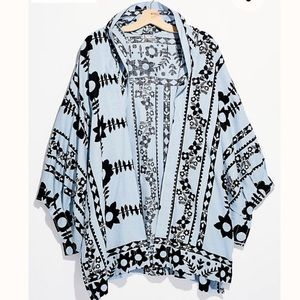 NWT!! Free People Keramas Kimono